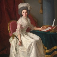 "Rose-Adélaïde Ducreux (French, 1761-1802), ""Portrait of a Lady"""